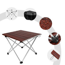 Folding Aluminum Rectangle Table Portable for Picnic Party Camping BBQ Outdoor
