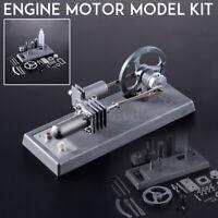 DIY Hot Air Stirling Engine Motor Model Power Generator Education Toy  f s ☀