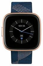 Fitbit Versa 2 Special Edition rastreador de actividad - Azul marino y rosa/Rosa cobrizo