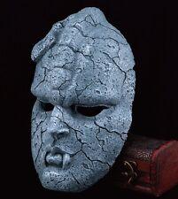 Anime JoJo's Bizarre Adventure Stone Mask Resin Halloween Prop Cosplay Costume