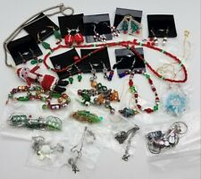 Christmas Bead Mix Jewelry Lot MK217