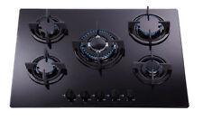 SIA GHG703BL 70cm 5-Burner Gas Hob - Black