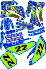 2000-2007 Yamaha TTR125 TTR 125 Graphics Decal dirt bike Shrouds Plates snake