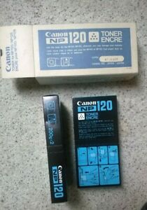 2 Canon NP120 Toner Packages in Box For NP-120, NP-125, Copier Toner Powder
