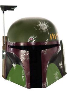 Rubies Star Wars Adult Deluxe Boba Fett Helmet One Size brand new in box