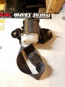 SUZUKI SIDEKICK GEO TRACKER REAR PASSENGER SEAT BELT MALE seatbelt 2D 89-95 OEM