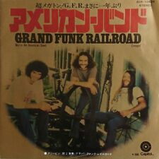 "<7inch> GRAND FUNK ""We're an American Band / Creepin' "" 1974 JAPAN"