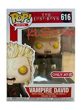 More details for vampire david lost boys funko pop signed by kiefer sutherland 100% with coa