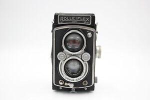 Rolleiflex Automat 6x6 Model 2 (K4B) TWIN LENS CAMERA w/ 7.5cm F3.5 Lens WORKING