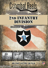2nd Infantry Division: Normandy Invasion Combat Camera Film Footage Research DVD