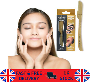 HOLLYWOOD BROWZER Protective Pouch Removes Unwanted Hair Brow Eyebrow Fuzz new