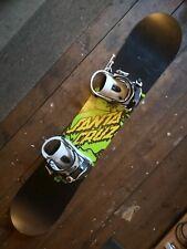 Santa Cruz Snowboard and Dakine bag