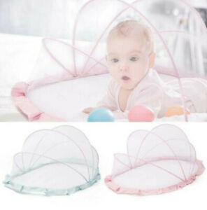 Baby Folding Round Mosquito Net Netting Tent Portable Cradle Home Indoor Outdoor