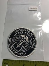 Middlesex County College Nursing Program Patch (patch10045)