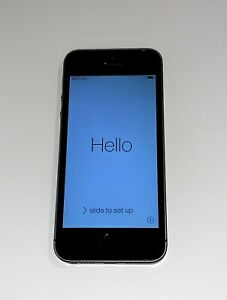 Apple iPhone 5s A1533 GSM LTE Black 32GB NOT WORKING FOR PARTS ONLY