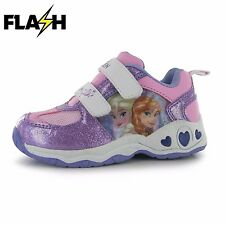 Infants Girls Branded Character Printed Light up Trainers Shoes Size C4-1 Hello Kitty C7 (24)