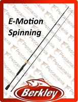 Canna spinning Berkley E-Motion bass trota luccio 6'-7'-8'-9'