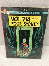 COLLECTION TINTIN HERGE TINTIN VOL 747 POUR SYDNEY B37 1968