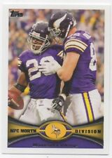 388-MINNESOTA VIKINGS-NFC NORTH DIVISION-TEAM CARD-2012 TOPPS NFL FOOTBALL TRADE
