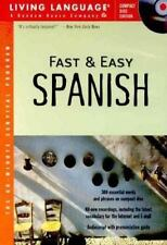 Fast and Easy Spanish, Living Language, 0609804596, Book, Good
