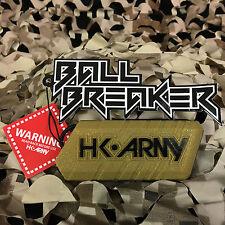 New Hk Army Ball Breaker 2.0 Barrel Cover Sock Plug Condom - Gold/Black