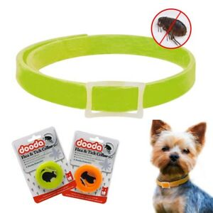 Flea & Tick Collar Quick Insect Kill Mosquito Remover Protection for Dogs 2 Size