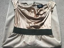 Stunning Dolce & Gabbana Gold Dress Size 8 Occasion Party Cocktail