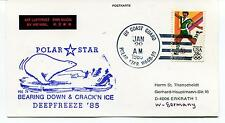 1985 USCGC Polar Star WAGB-10 Bearing Down & Crack'n Ice Deep Freeze Polar Cover