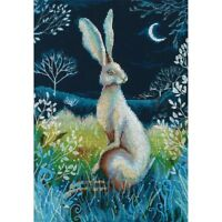 Counted Cross Stitch Kit RTO - Hare by night