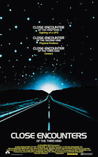 Close Encounters Of The Third Kind - 1977 - Movie Poster