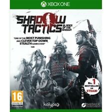 Shadow Tactics Blades of The SHOGUN Xbox One Xb1 UK Delivery