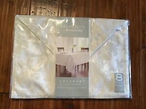 NWT MARQUIS BY WATERFORD 8 LUXURY PLACEMATS