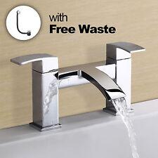 ARKE WATERFALL BATH FILLER TAP + WASTE