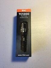 1 TAC - Model TC1200 Tactical Flashlight FREE SHIPPING USA ✔️
