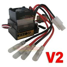 320A High Voltage Brushed ESC Speed Controller for 4WD RC On-road Car Truck