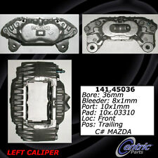 Centric Parts 142.45036 Front Left Rebuilt Brake Caliper With Pad