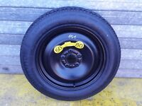 FORD MONDEO MK4 2008  16 INCH SPACE SAVER SPARE WHEEL 125/90R16 CONTINENTAL