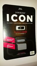 Jawbone ICON Bluetooth Headset With Wall and Car Charger (FACTORY SEALED)