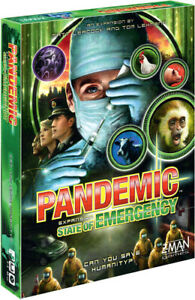 Pandemic: State Of Emergency [New ] Board Game
