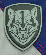 GREY TIGER MEDAL OF HONOR 3D PVC MORALE PATCH MOH HOOK PROJECT HONOR TACTICAL