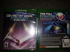 Geometry Wars 3 Dimensions Evolved Microsoft Xbox one MS x1 xone 2016 2k16 New