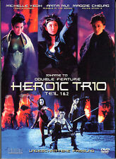 Heroic Trio 1 & 2 , Double Feature , 100% Uncut , DVD , new and sealed !