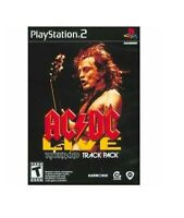AC/DC Live: Rock Band Track Pack - Sony Playstation 2 - BRAND NEW™