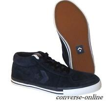 Men's CONVERSE All Star ATHENS MID HI BLACK SUEDE SKATE Trainers Shoes SIZE UK 8