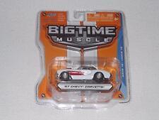 BIG TIME MUSCLE  DIE CAST 1:64 '57 CORVETTE BEAUTIFUL CAR!