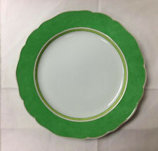 "HUTSCHENREUTHER SUMMERDREAM GREEN DINNER PLATE 10 3/4"" PORCELAIN NEW  GERMANY"