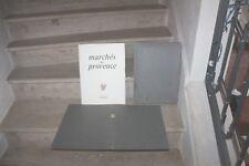 M.Mauron & De Gastyne - Marchés de provence ( 600 ex) hommage de l'auteur