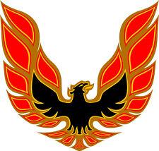 "#M248 4"" Pontiac Trans AM Firebird Hood Eagle Red"