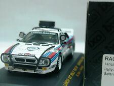 WOW EXTREMELY RARE Lancia 037 Evo #7 Markku Alen Safari 1984 WRC 1:43 Ixo-HPI
