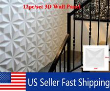 12pcs Set Wall Panel Diy Home Decor Ceiling Tiles Wallpaper Background Decal